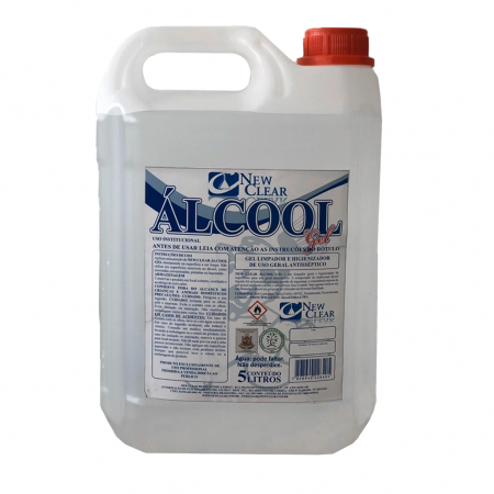 ÁLCOOL GEL ASSÉPTICO 05L NEW CLEAR